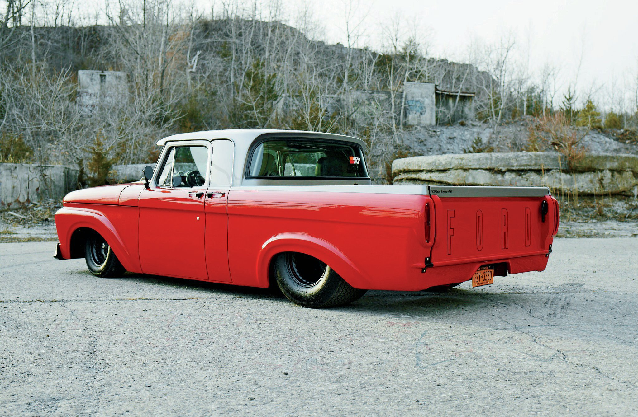 1963 Ford F100 Rear Side View