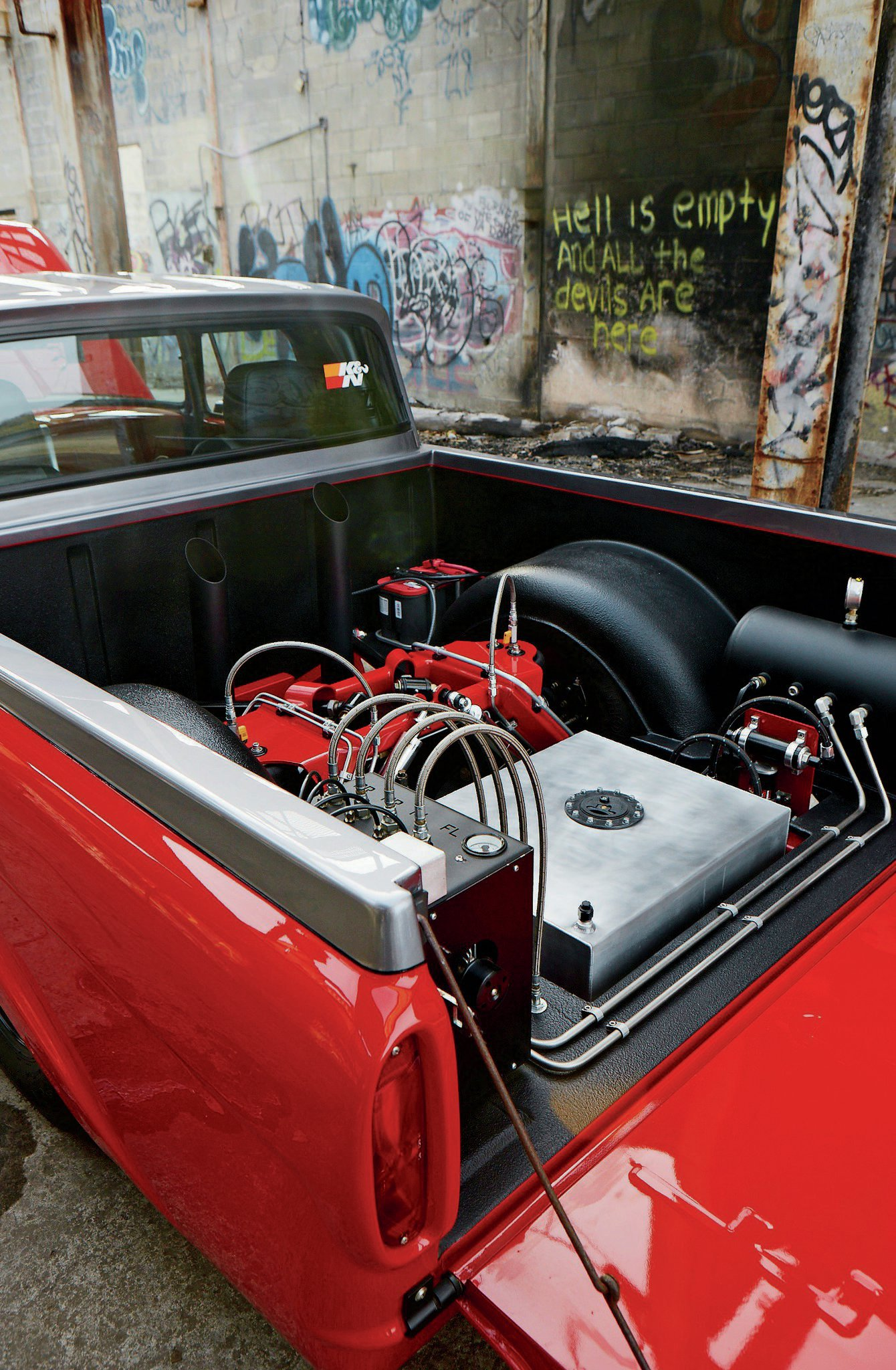 1963 Ford F100 Trunk