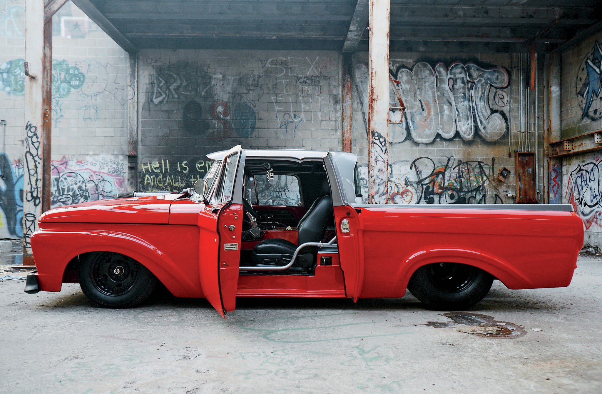 1963 Ford F100 Side View