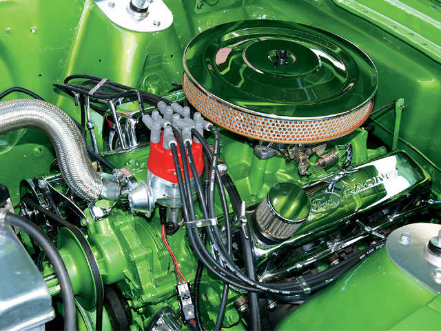 1966 Ford Mustang Fastback Engine