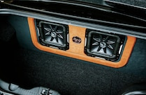 2014 Ford Mustang Black Subwoofer Speakers