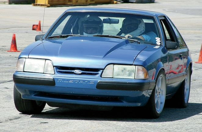 1988 Ford Mustang Gt Suspension Test