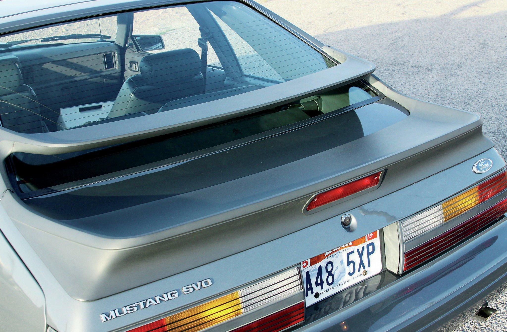 1986 Ford Mustang Bi Wing Design