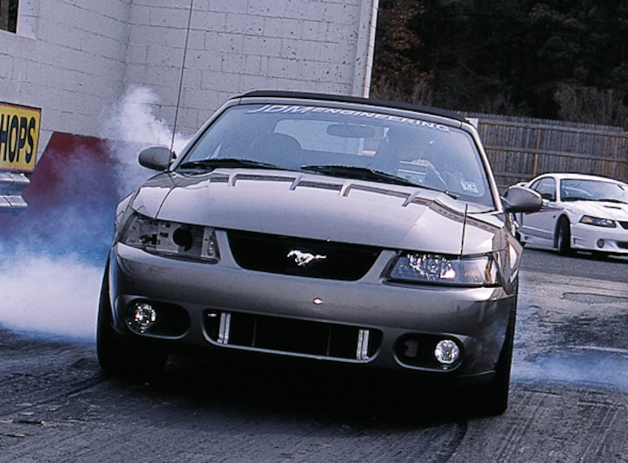 0306MM_05z 2003_Ford_Cobra Front_View_At_Track