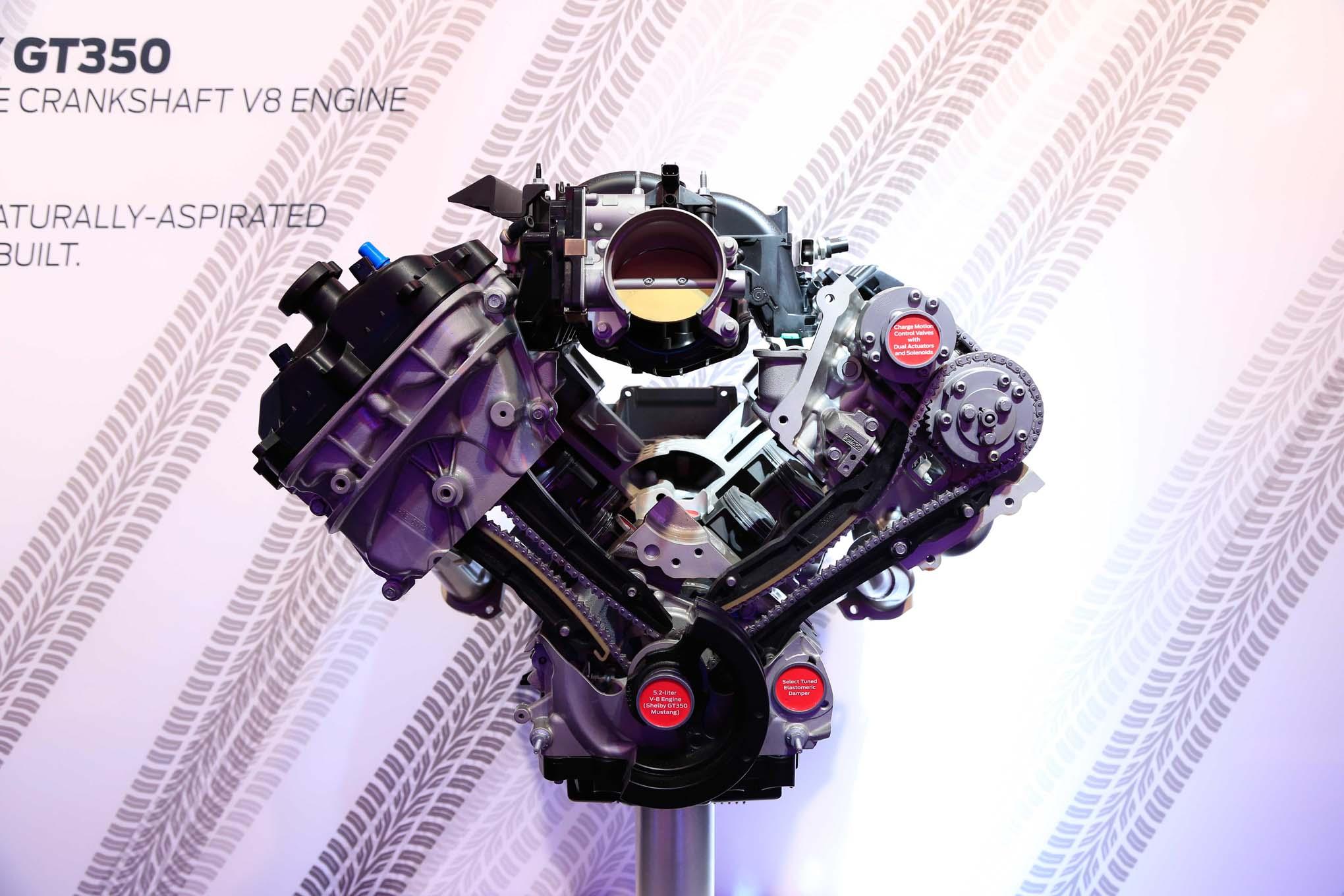 Ford Flat Plane Crank 5 2L V8  2