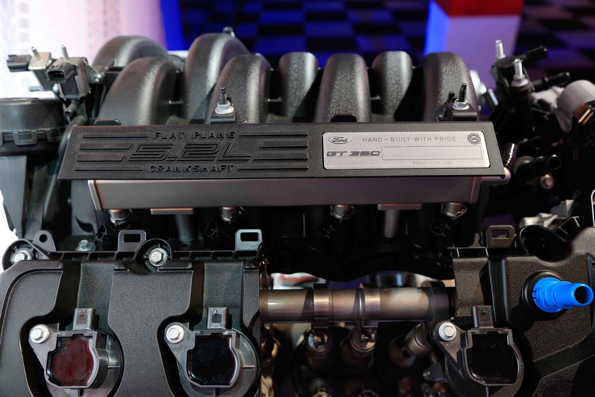 Ford Flat Plane Crank 5 2L V8  7