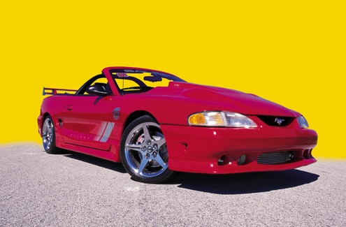 P31321_large 1997_Ford_Mustang_Saleen_Twin_Turbo Front_Passenger_Side