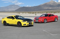 2015 Ford Mustang Shelby Gt Red Yellow