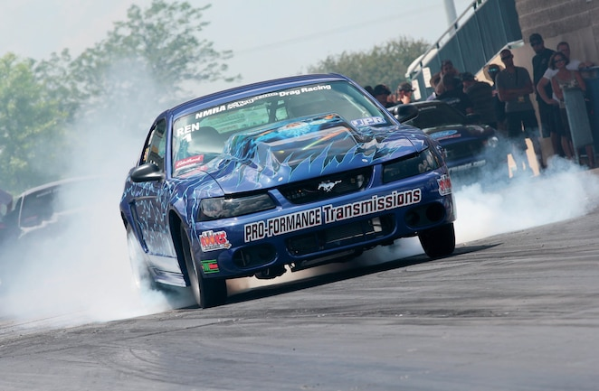 2004 Ford Mustang Front View Racing