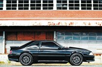 1993 Ford Mustang Side View