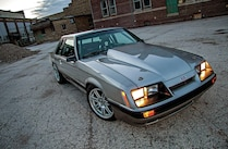 1986 Ford Mustang Front Side View