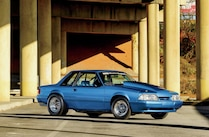 1988 Ford Mustang Side View Lx