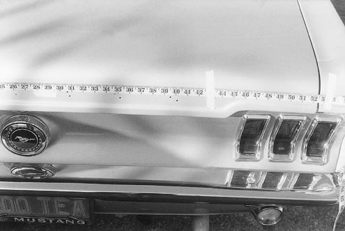 Mump 0106 83483z 1967 Ford Mustang Pin Lettering