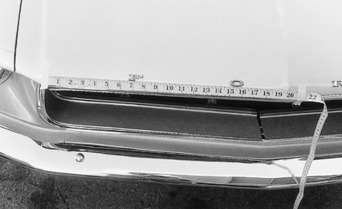 Mump 0106 83479z 1967 Ford Mustang Pin Lettering