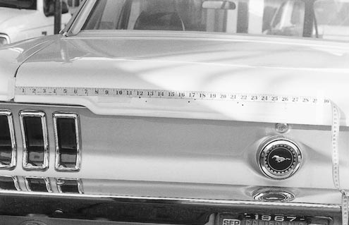 Mump 0106 83481z 1967 Ford Mustang Pin Lettering