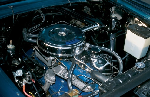 1965 Mercury Comet Hardtop Engine Bay View