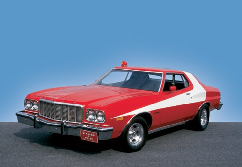 1976 Ford Gran Torino Limited Front End View