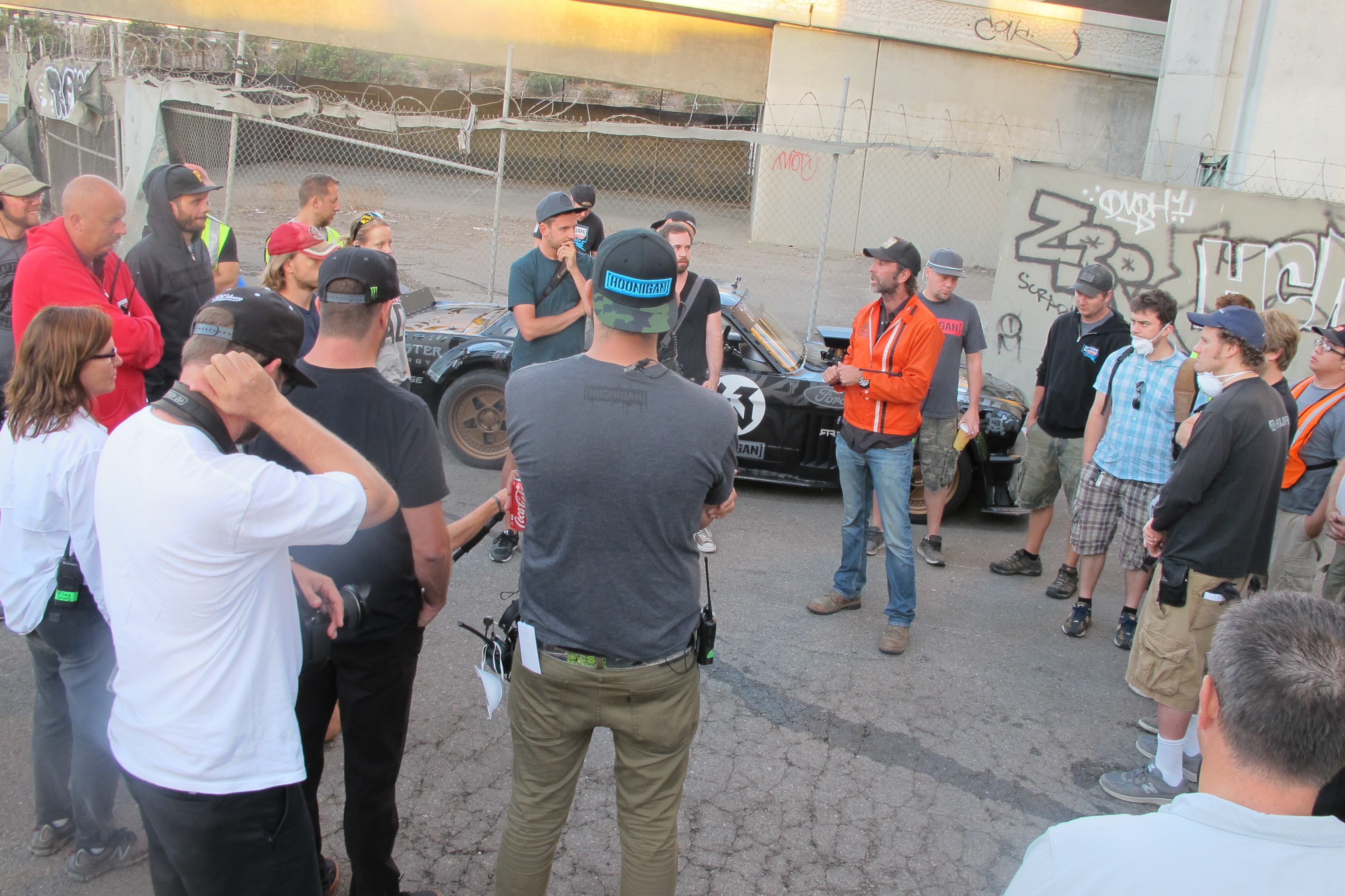 Ken Block Gymkhana 7 1965 Ford Mustang Behind The Scenes 3