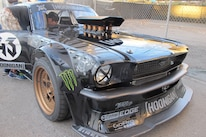 Ken Block Gymkhana 7 1965 Ford Mustang Three Quarter Front 2