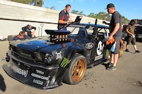 Ken Block Gymkhana 7 1965 Ford Mustang Three Quarter Front 4