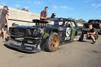 Ken Block Gymkhana 7 1965 Ford Mustang Three Quarter Front 5