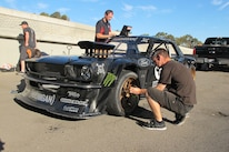Ken Block Gymkhana 7 1965 Ford Mustang Three Quarter Front 6