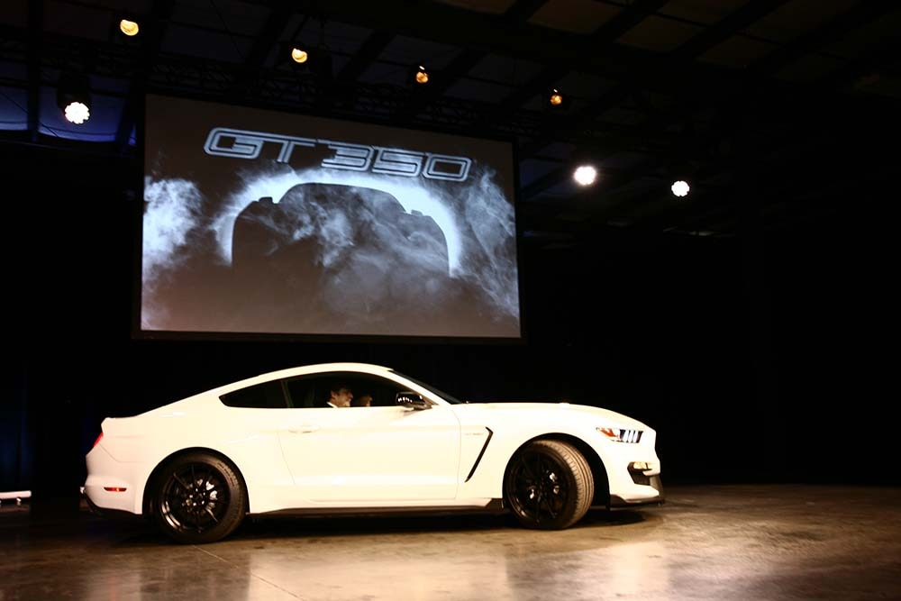 2016 Ford Mustang GT350 30