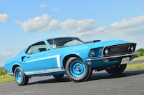 1969 Ford Mustang Front Quarter