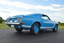 1969 Ford Mustang Passenger Side View