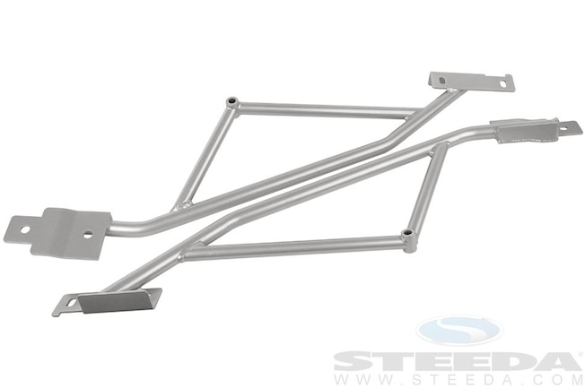 01 Steeda S550 Mustang Rear Irs Subframe Brace 2015 Coupe