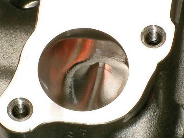 0609 MMFP 10Z D3 Type Head Exhaust Port