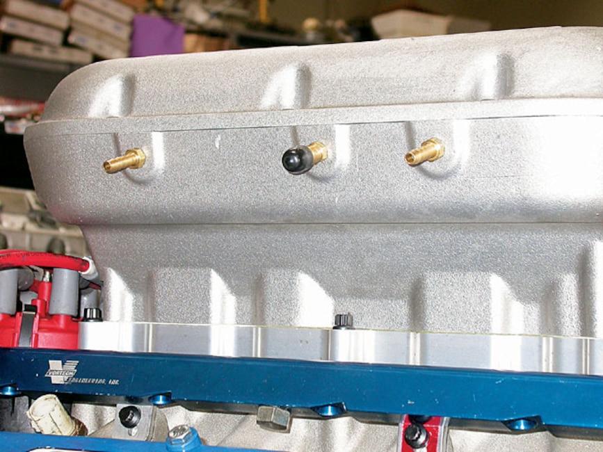 Mmfp_0610_06z Mustang_intake_manifolds Upper_intake_drilled