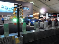 And The Ford Dyno Challenge Even Runs A Real Christmas Tree