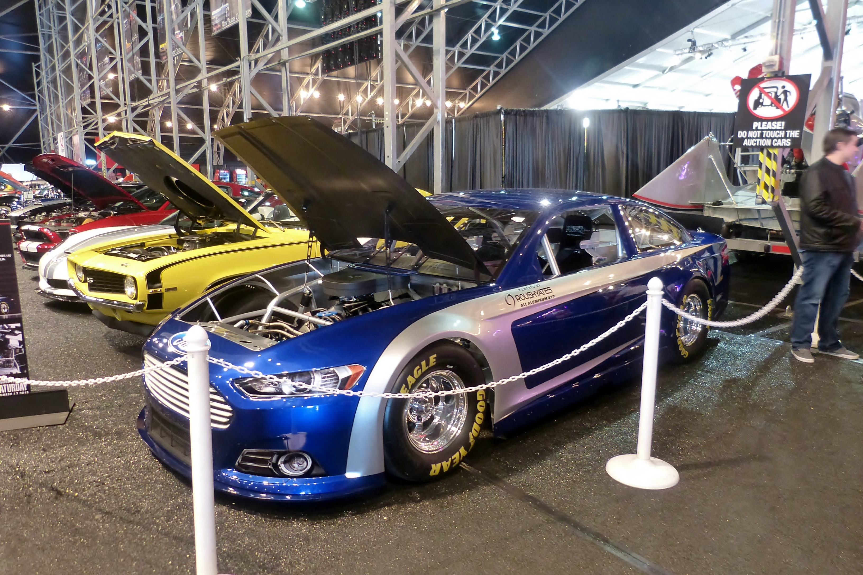 Plenty Of NASCAR  Fords On Hand And For Sale