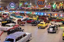 The Former Ron Pratte Car Barn Now Empty With All Cars And Memorabilia Sold Off At B J 2015