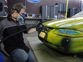 How to Paint a Car with ElastiWrap
