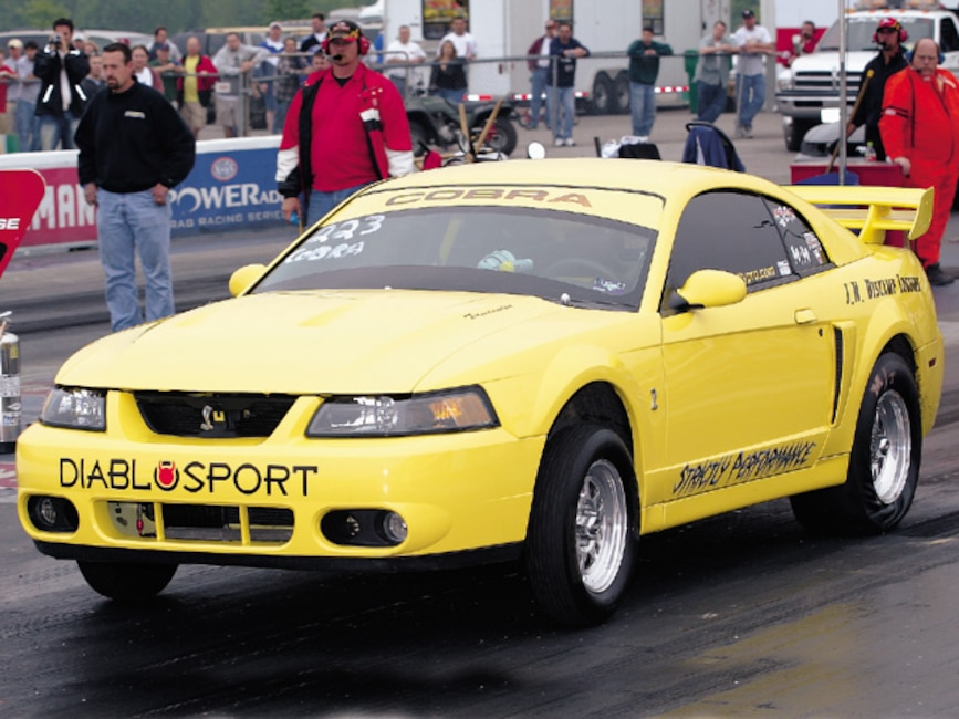 0310mm_19z 2003_Ford_Cobra Front_Drivers_Side_View_At_Track