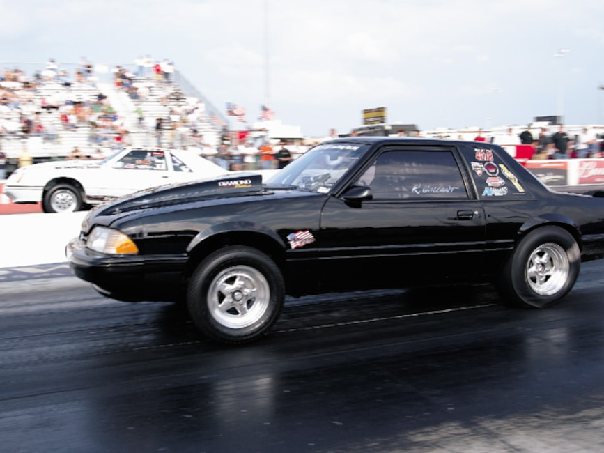 0310mm_24z Ford_Mustang Drivers_Side_View_At_Track