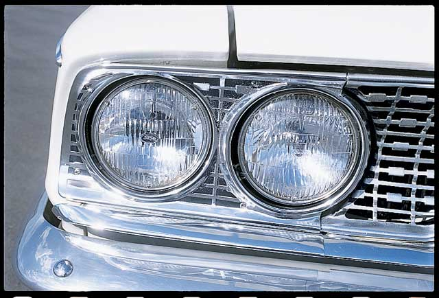 1963 Ford Galaxie Lightweight Front Passenger Headlight