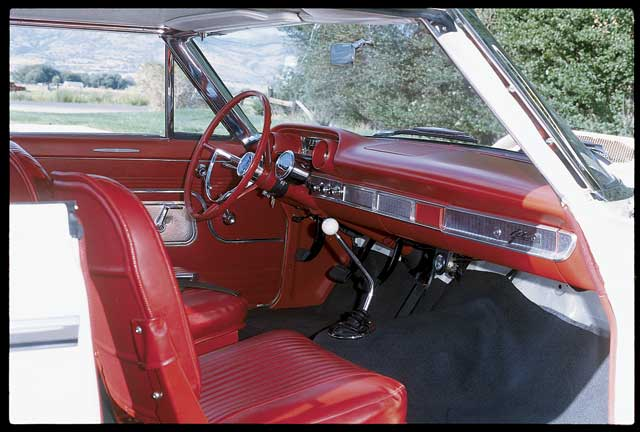 1963 Ford Galaxie Lightweight Passenger Side Interior