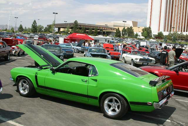 1969 Ford Mustang Side View