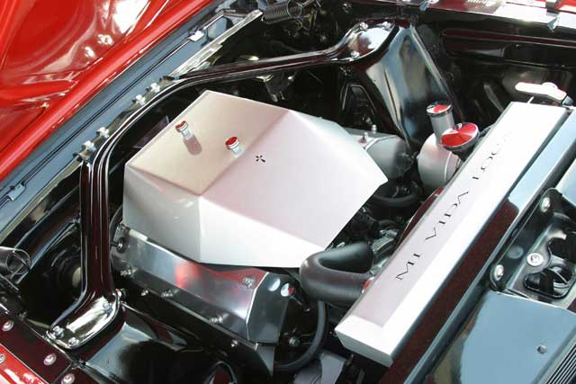 Ford Mustang Underhood Engine