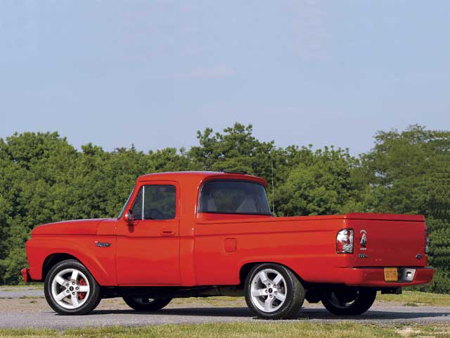 1966 Ford F100 Truck Driver Side View