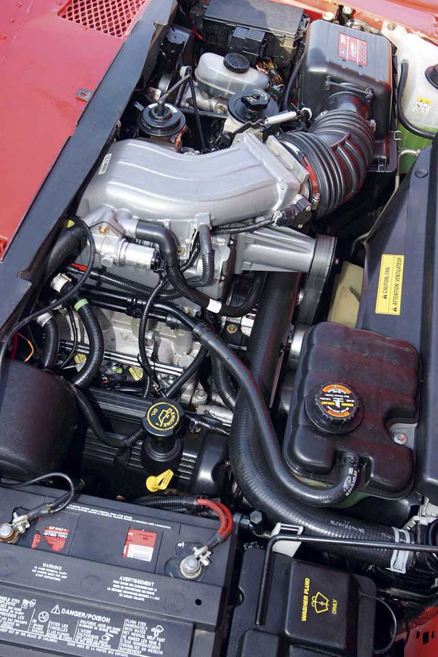 1966 Ford F100 Lightning Engine Bay View