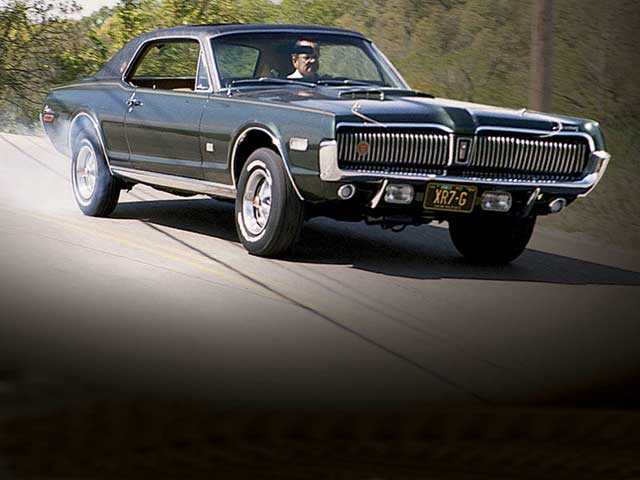 1967 Mercury Cougar Front Passenger Side