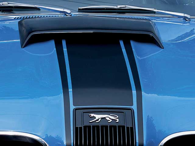 Mercury Cougar Front Hood Scoop