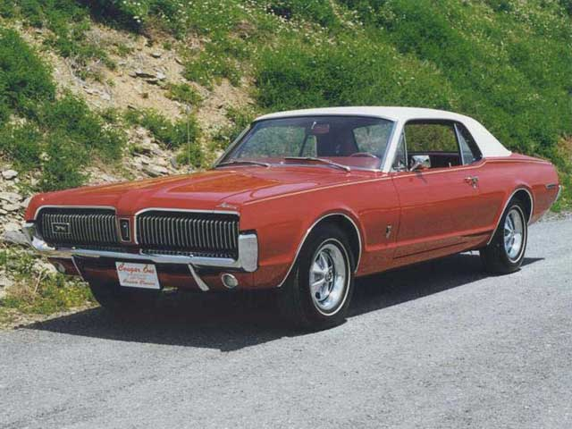 1967 Mercury Cougar Front Driver Side