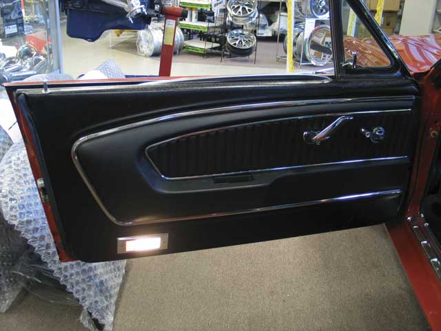 0511mump 05z 1966 Ford Mustang Gt Fastback Door Panel View Photo 8894297 Identify And Duplicate A Pony Interior
