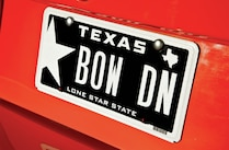 2004 Ford Mustang Cobra Texas License Plate
