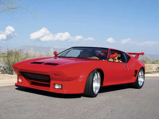 1972 De Tomaso Pantera Group V Front End